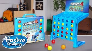 'Connect 4 Shots Game' Official Spot - Hasbro Gaming