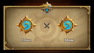 Fr0zen vs XHope, game 1