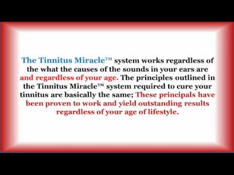 Tinnitus symptoms – ringing in the ears and cure