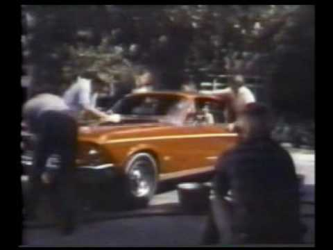 banned commercials, 60's ford mustang 1968