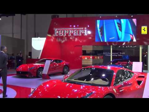 Ferrari - Dubai International Motor Show 2015