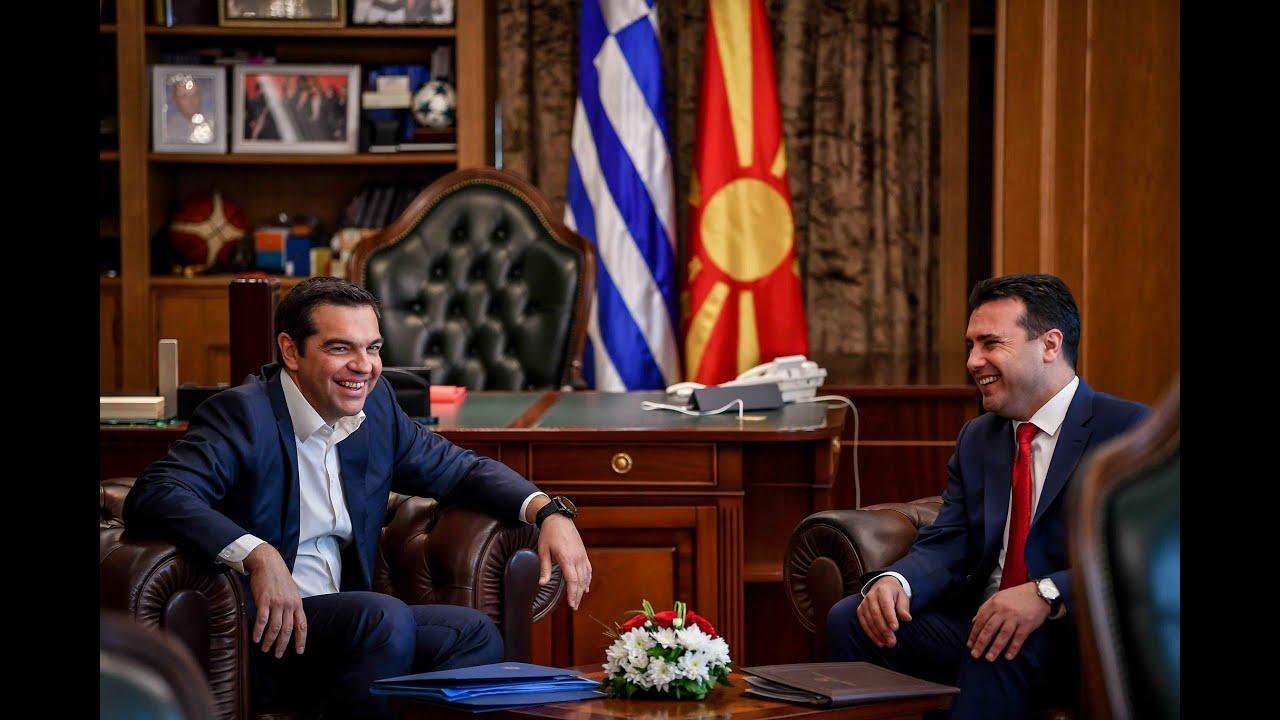 Ο Αλέξης Τσίπρας έφτασε στα Σκόπια
