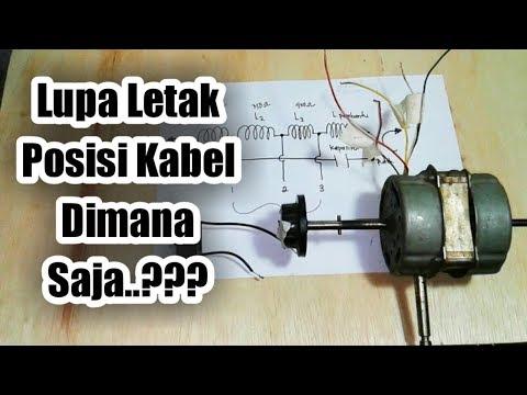 Cara Mengetahui Letak dan Posisi Kabel Motor Kipas Angin