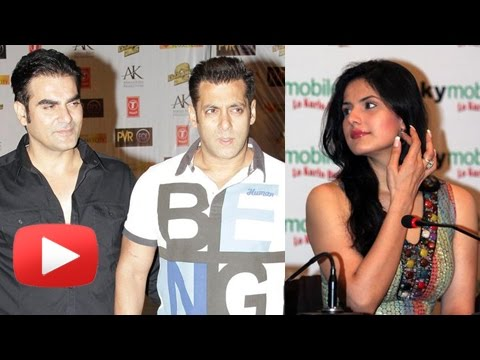 Zarine Khan REJECTS Salman Khan's Brother Arbaaz K
