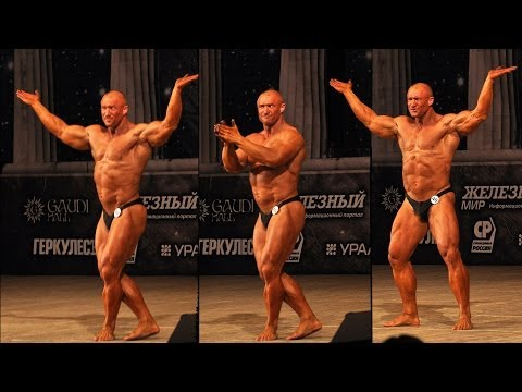 Russian Bodybuilder Performs a Comical Dance