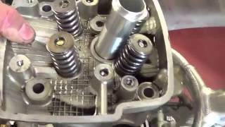 9. Honda CRF Cylinder HEAD removal and install