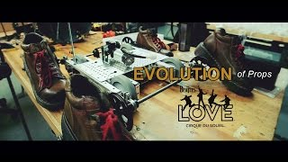 Video Evolution of Props   The Beatles LOVE by Cirque du Soleil   10-Year Anniversary MP3, 3GP, MP4, WEBM, AVI, FLV Agustus 2018