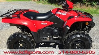 10. Suzuki King Quad 750 2009 EPS