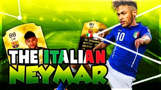 FIFA 16 - IF EL SHAARAWY THE ITALIAN NEYMAR IS OVERPOWERED!!!  - FIFA 16 ULTIMATE TEAM, neymar, neymar Barcelona,  Barcelona, chung ket cup c1, Barcelona juventus