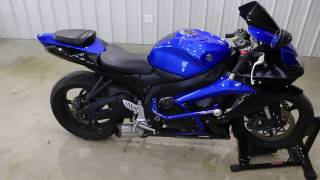 6. 2007 Suzuki GSXR600 Walk Around
