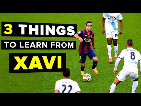 3 things every midfielder should learn from XAVI