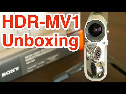 Unboxing Sony Music Video Recorder Hdr-mv1  開封の儀〜前編〜