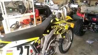 3. 2007 Suzuki RM-Z250 Build Series: Final Summary Video - Ep. 59