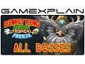All Boss Fights in Donkey Kong Country: Tropical Freeze (Boss Battles - 1080p Wii U - Japanese Ver.)
