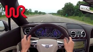 2013 Bentley Continental GTC V8 - WINDING ROAD POV Test Drive