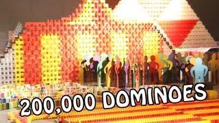Уникално - 200 000 доминота във формата на цирк!!!