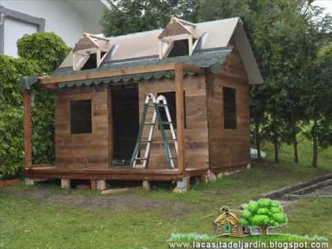 Casitas de jardin videos videos relacionados con for Construccion de casas paso a paso