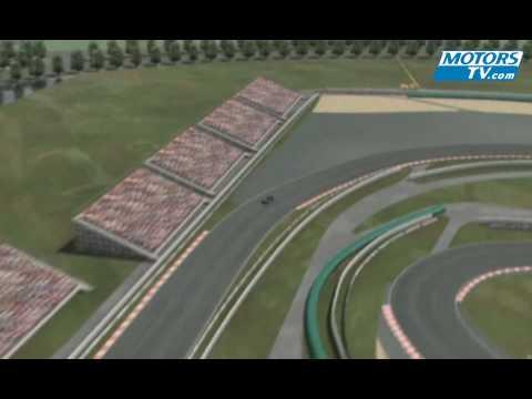 Vuelta virtual al Circuito de Shanghai