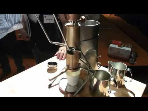 Espresso Strietman – an espresso machine for home use, the ES1