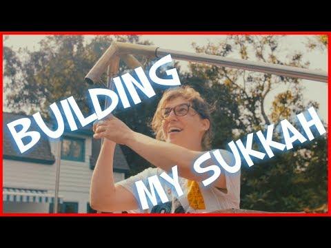 Building My Sukkah || Mayim Bialik