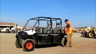 4. Sold! 2013 Bobcat 3400XL 4WD Diesel 4-Seater Utility Cart UTV ATV bidadoo.com