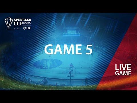 HC Lugano - Mountfield HK | Game #5 | Spengler Cup Davos 2016 (видео)
