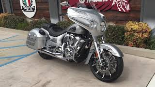 8. 2018 Indian Chieftain Elite in Black Hills Silver w/ Mable Accents for Sale Orange County, CA