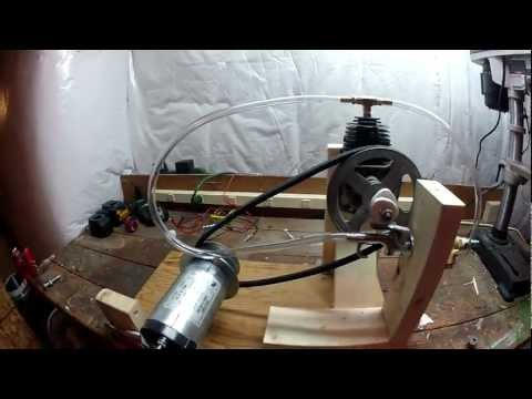 diy steam engine - My Steam Powered Electric Generator.