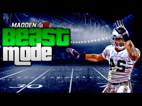never - Madden NFL 15 Ultimate Team - Beast Mode aka Marshawn Lynch debuts for our squad, do we finally turn to a run first team? Madden NFL 15 site : http://bit.ly/1uTzIvt This series I upload Madden...