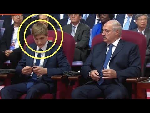 Николай Лукашенко почти готов сменить отца. НУ И НОВОСТИ 41 - DomaVideo.Ru