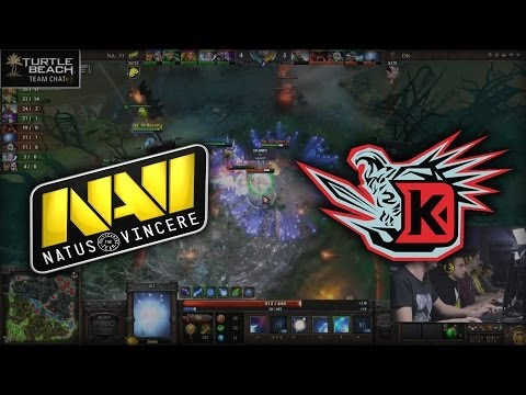 Na'Vi vs DK (team chat) | MLG Columbus