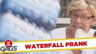 Water Fall Destruction