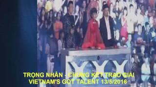 Trong Nhan - Chung Ket Trao Giai Vietnam's Got Talent - Ngon Lua Cao Nguyen, tim kiem tai nang viet nam, tìm kiếm tài năng việt nam 2015, vietnam's got talent 2015, vietnam's got talent 2015, nguyễn đức vĩnh, nguyen duc vinh quan quan vietnam's got talent 2015