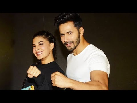 Varun Dhawan And Jacqueline Fernandez At Dishoom D