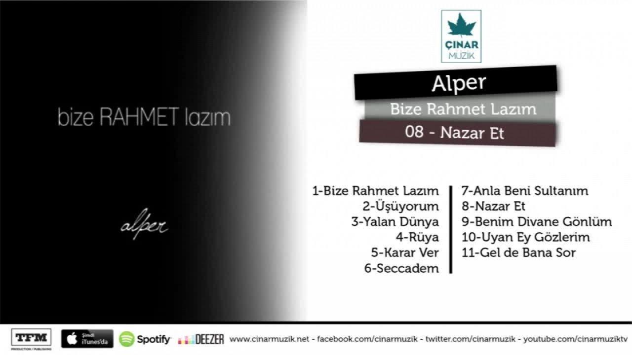 Alper – Nazar Et
