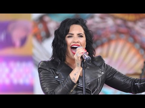 Video Demi Lovato Performs Hits On GMA & Holds Longest Note During