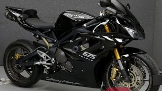 4. 2008  TRIUMPH  DAYTONA 675  - National Powersports Distributors