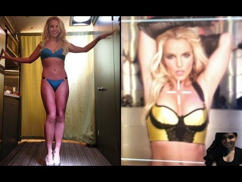 """Britney Spears Looks Sexy as Ever in Tiny Bikini for """"Work Bitch"""" Video Shoot – My Thoughts"""