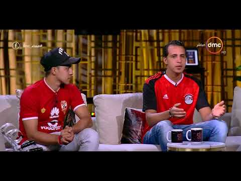 الباكي الأشهر في مباراة مصر والكونغو يكشف شخصيته