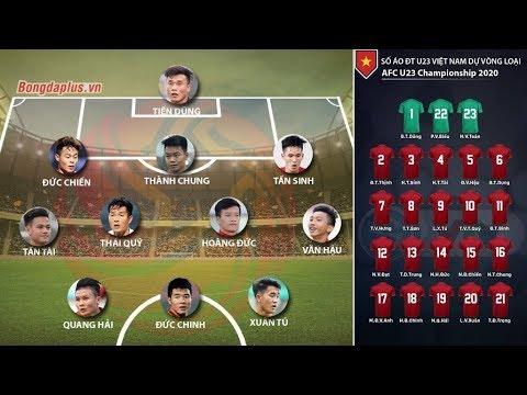 Chốt số áo và đội hình chính thức của U23 Việt Nam đấu U23 Brunei diễn ra vào tối nay 22/3/2019 - Thời lượng: 4 phút, 50 giây.