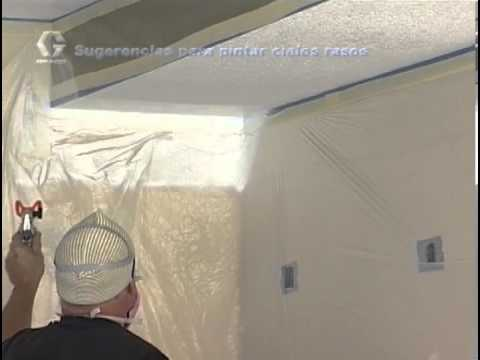 graco magnum lts paint sprayer - This informative video shows how to paint a ceiling with a Graco Magnum Paint Sprayer. For more information head over to www.cjspray.com or call us toll-free...