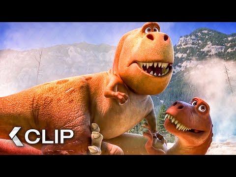 Meeting the T-Rexes - THE GOOD DINOSAUR Movie Clip (2015)