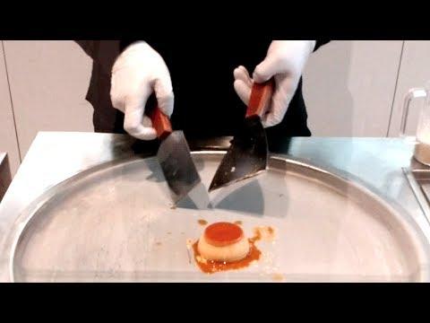超夯的「 泰式炒冰」你一定吃過,但是加入布丁一起炒的絕對沒看過…賣相也太療癒了吧!
