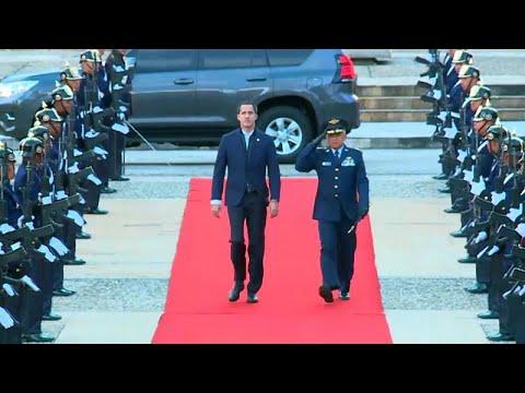 Venezuela: Machtkampf - Guaidó trifft Pompeo