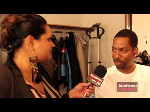 TONY ROCK INTERVIEW - MONTREAL DANCEHALL /// Part 1