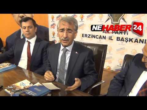 Ak Parti İl Başkanı Orhan Bulut Erzincan Halkına Teşekkür Etti