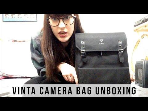 VINTA S-SERIES TRAVEL CAMERA BAG UNBOXING
