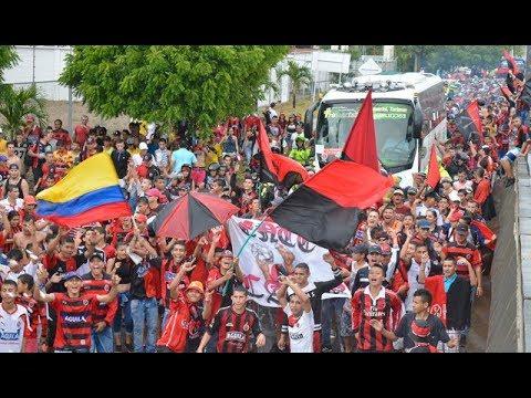 Ni la lluvia opacó la alegría de los hinchas del Cúcuta Deportivo - La Banda del Indio - Cúcuta