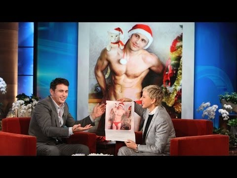James Franco and His Cat Calendar