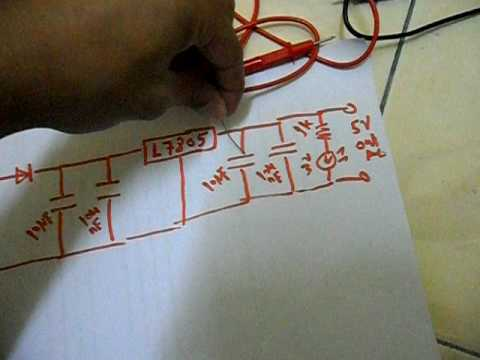 Simple DC Voltage Regulator 12V to 5V [ Something YOU can DO ;-) ]